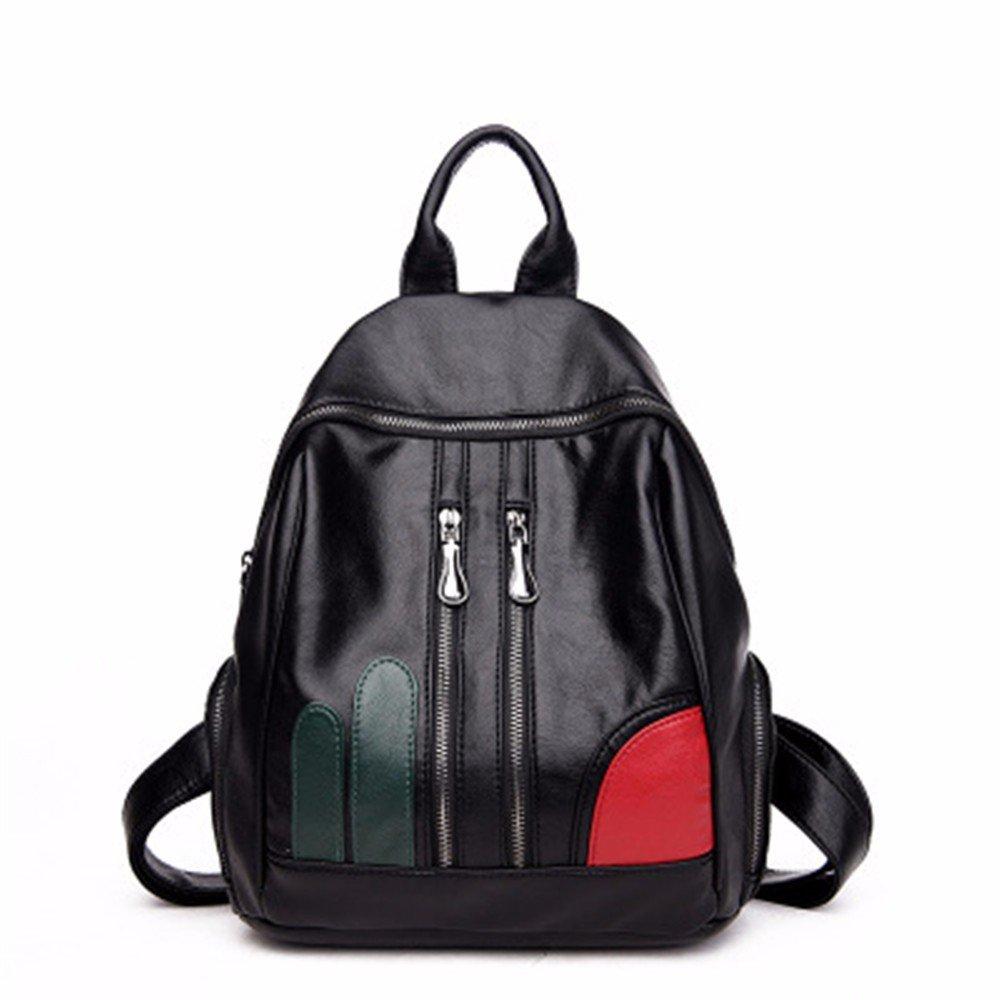 Red Doubles shoulder bag casual bag sheepskin bag temperament personality bag