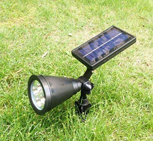 Zehui Outdoor Landscape Lighting Wall Light 4 Led Solar Lights Spotlight