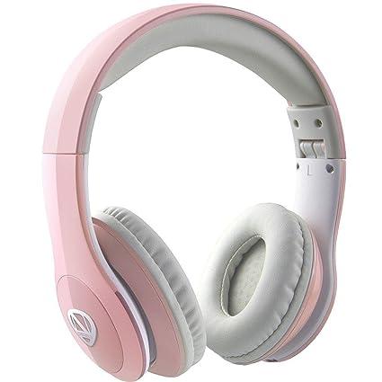 Ncredible – Auriculares Bluetooth para niños (rosa)