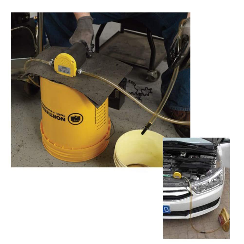 QLOUNI Pompe /électrique dextracteur dhuile de 12V 60W pour Les extracteurs Diesel de Fluide d/échange de Voiture Huile de Moteur