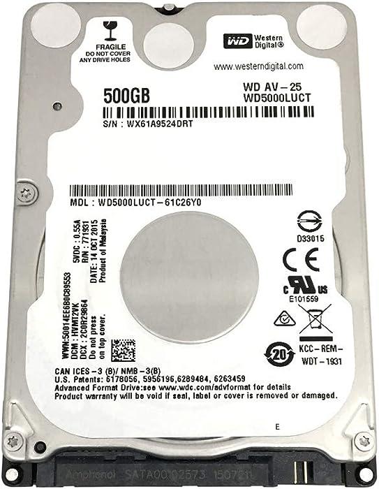 Top 8 500 Gb Western Digital Hard Drive Laptop