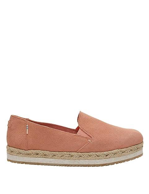 TOMS Women Palma Coral Pink, Alpargatas para Mujer: Amazon.es: Zapatos y complementos