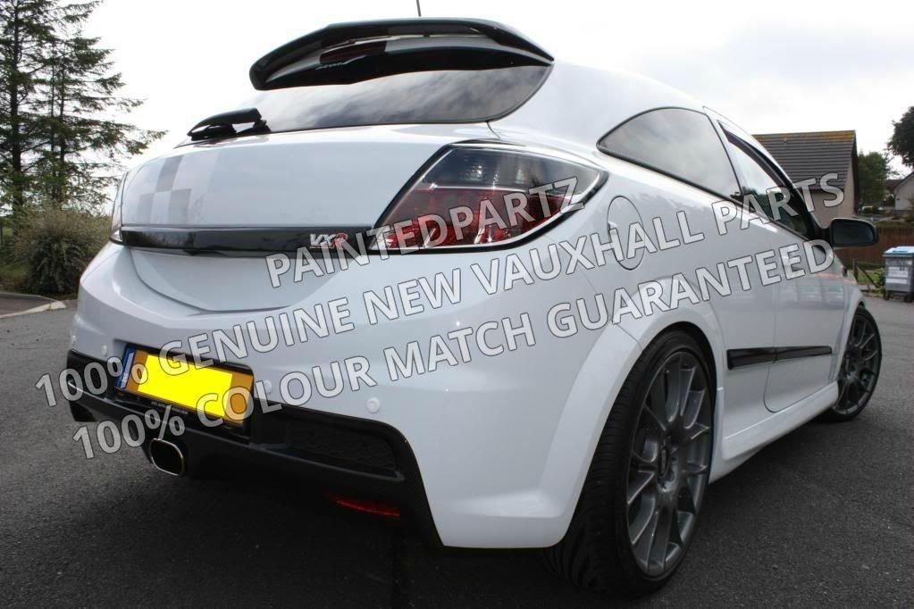 100% nuevo original MK5 Astra H 3DR sólo VXR Turbo Arctic Nurburgring sportshatch Coupe Racing Sri 3 Dr XP VXR Portón Trasero Mango y parrilla negro zafiro: ...