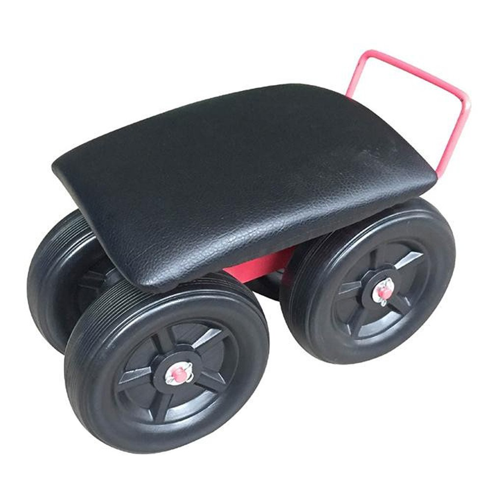 Garden Work Scooter with Cushion