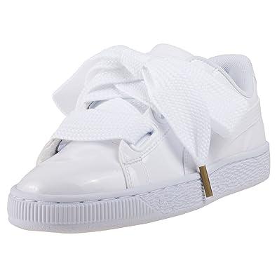 Puma Basket Heart Patent, Sneakers Basses Femme: