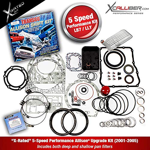 XCALLIBER (29545311-X) - Performance Rebuilt Kit for DURAMAX/GM, 5 Speed  ALLISON 1000 Series Transmissions, LB7, LLY
