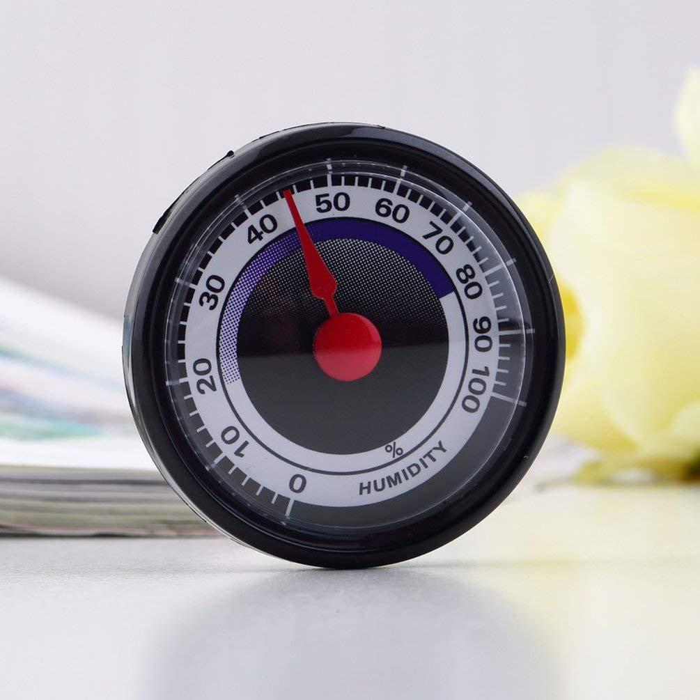 Temperatura de Humedad Digital electr/ónica SINZON indicador del Nivel de Comodidad para el hogar /°C///° conmutable Color Blanco Mini term/ómetro e higr/ómetro Interior