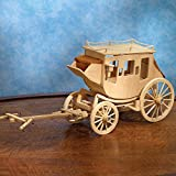STAGECOACH MODEL KIT BY BITS AND PIECES
