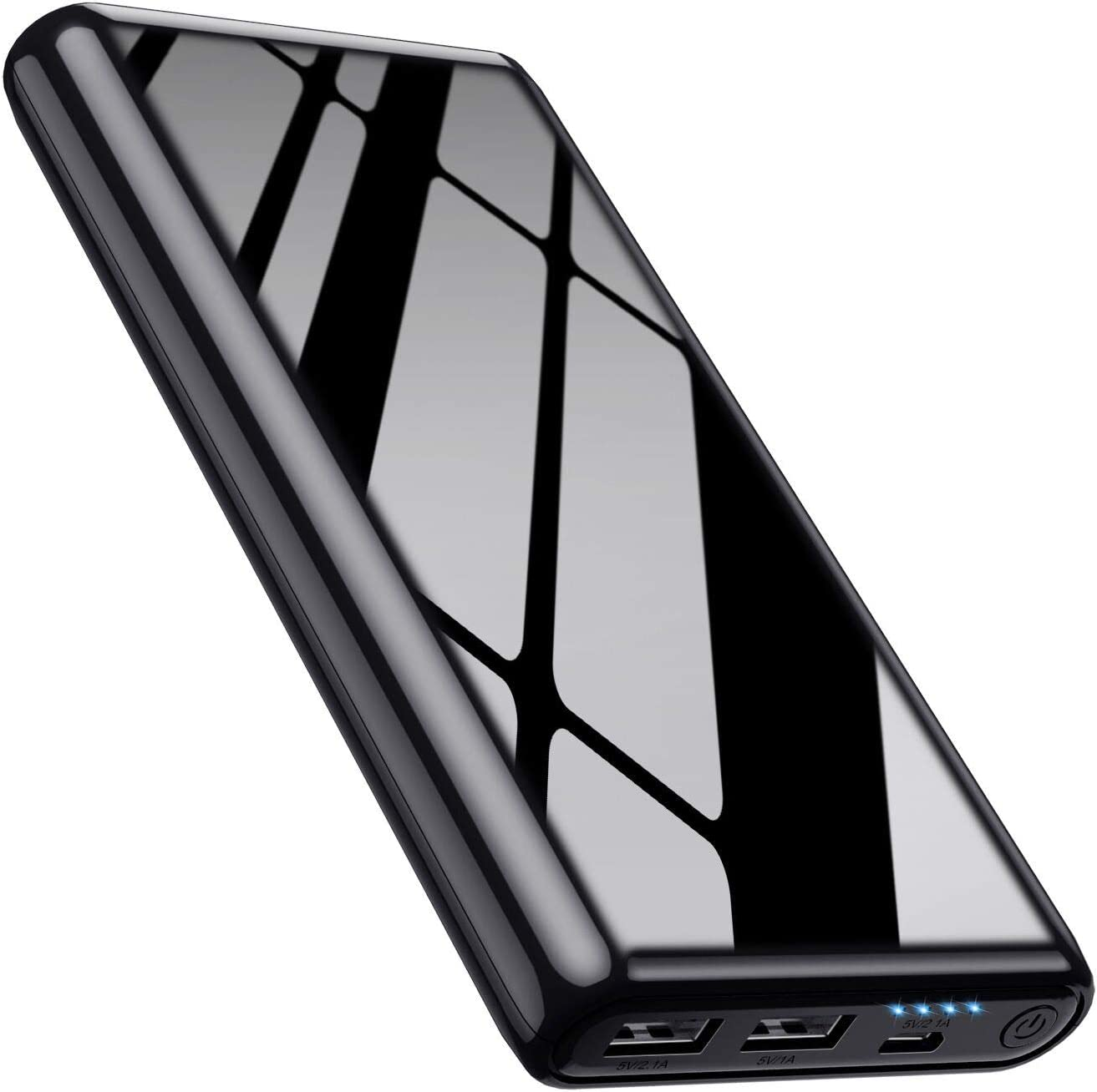 Portable Charger Power Bank 25800mAh Ultra High Capacity High Speed Recharging External Battery Pack 2 USB Output with 4 LED Display Battery Phone