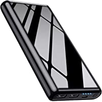 Portable Charger Power Bank 【25800mAh】Ultra High Capacity External Battery Pack High-Speed Recharging 2 USB Output with 4 LED Display Battery Phone Charger for Smart Phones,Android Phone,Tablet & More