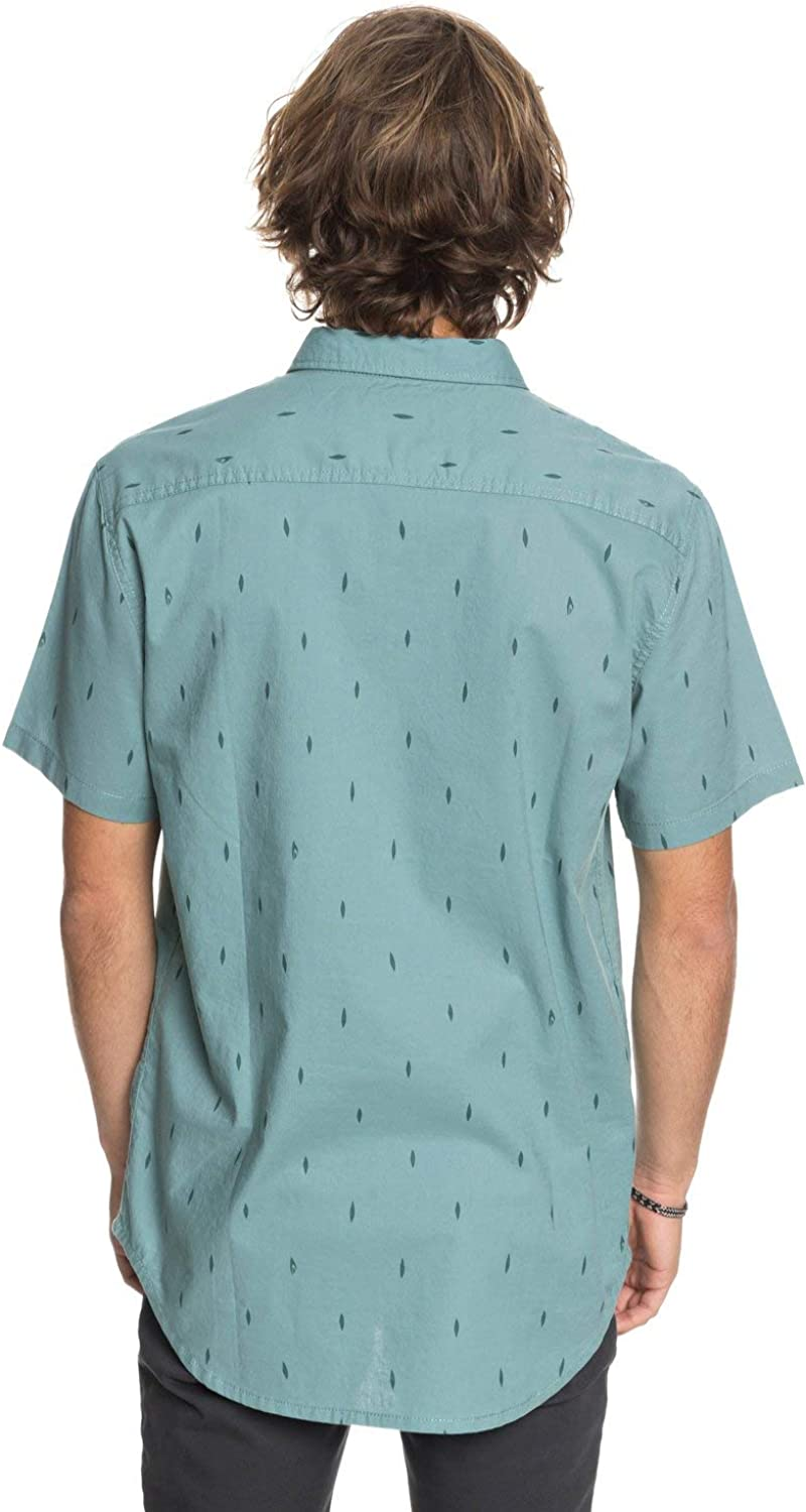 QUIKSILVER Mens Abstract Boards Short Sleeve Woven
