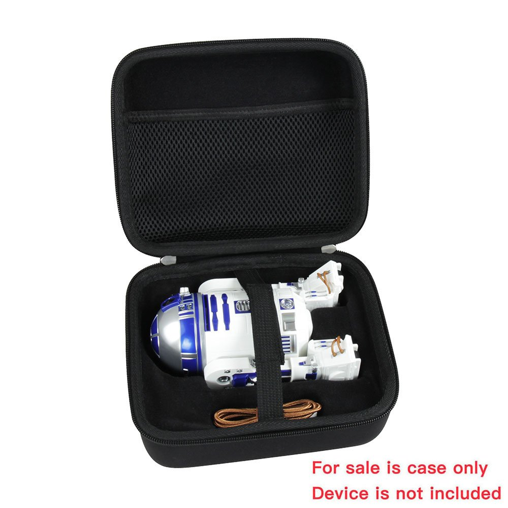 Hermitshell Hard EVA Travel Black Case Fits Sphero Star Wars R2-D2 App-Enabled Droid by Hermitshell (Image #2)