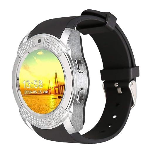 Smartwatch, Reloj Inteligente Android con Ranura para Tarjeta SIM, Reloj Inteligente para Deporte,