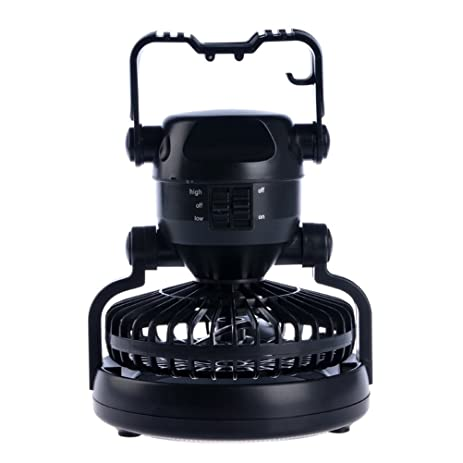 BoJia 18 LED 2-in-1 C&ing Lantern with Ceiling Fan Tent l& Emergency  sc 1 st  Amazon.com & Amazon.com : BoJia 18 LED 2-in-1 Camping Lantern with Ceiling Fan ...
