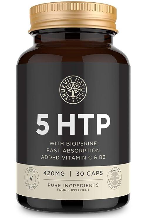 Serotonina 5HTP Suplemento de Alta Potencia para el Cerebro de ...