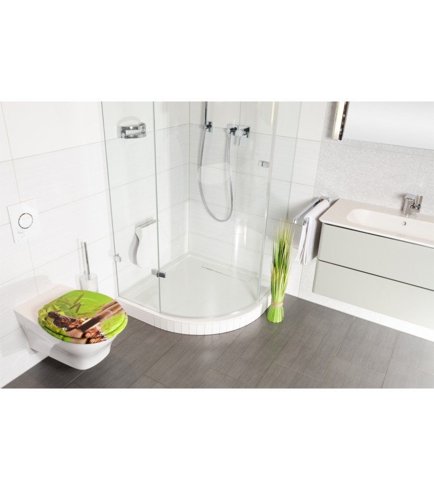Sedile WC grande scelta di belli sedili WC da legno robusto e di alta qualit/à Home Sweet Home