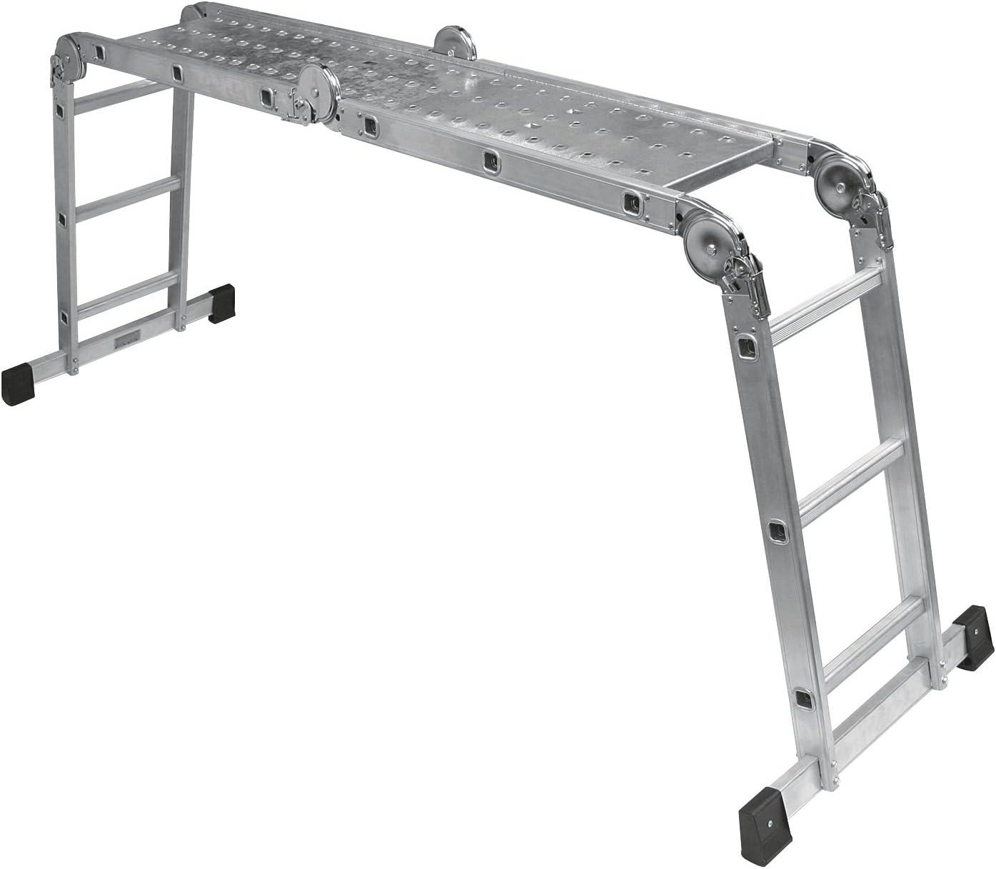 Cogex 62876 - Escalera multiposición (aluminio): Amazon.es: Bricolaje y herramientas