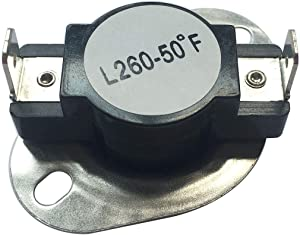 LONYE DC47-00018A Thermostat for Samsung Whirlpool Kenmore Maytag Dryer