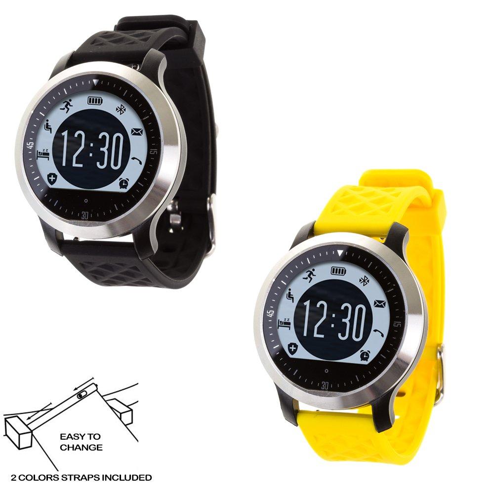 DAM DMR228 - Smartwatch Sportswim F69 con 2 Correas ...