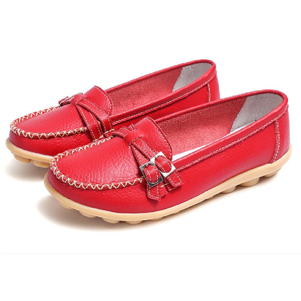 Comfity Flats Shoes Women's Natural Comfort Walking Flat Driving Moccasins