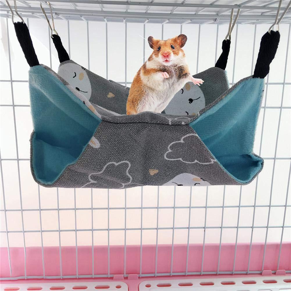 alikena Knowes Pet Hamacas Colgar Cama Nido Hamsters Chinchillas ...