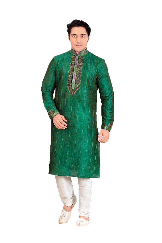 Da Facioun Traditional Fashion Comfortable Kurta Pajama Set For Men,Indian Clothes Gifts For Him by Da Facioun (Image #1)