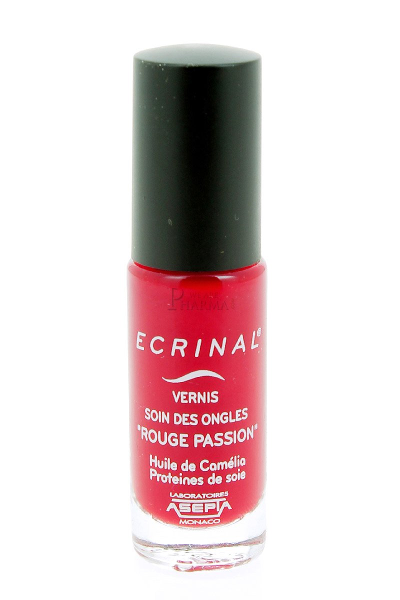 Ecrinal Nail Polish Nail Care 6ml - Colour : Indian Red