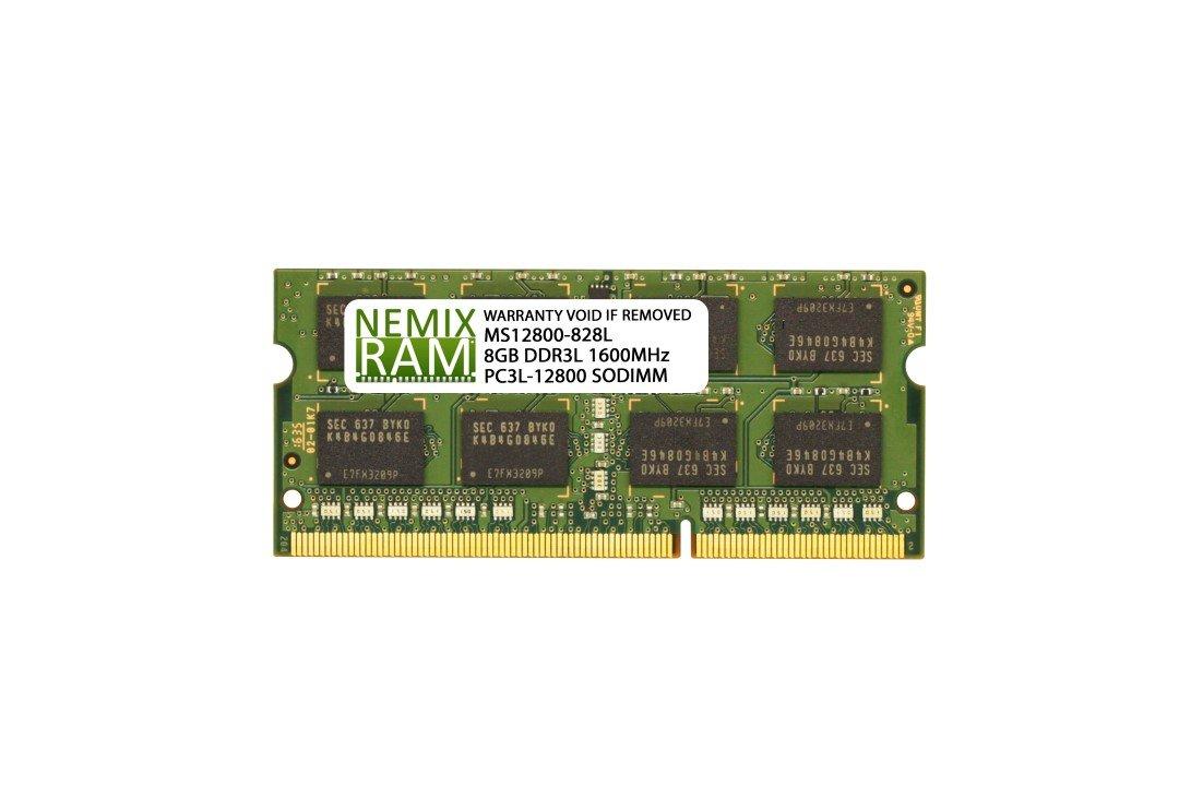 8GB (1x8GB) DDR3-1600MHz PC3-12800 2Rx8 SODIMM Laptop Memory
