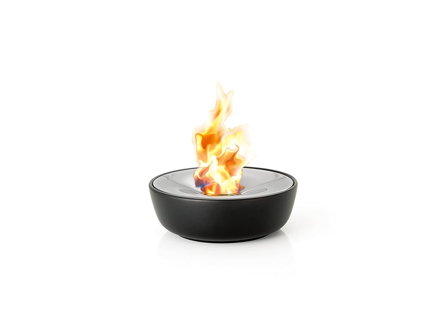 Blomus 65079 32 cm Diameter Gel Fire Pit - Dark Grey