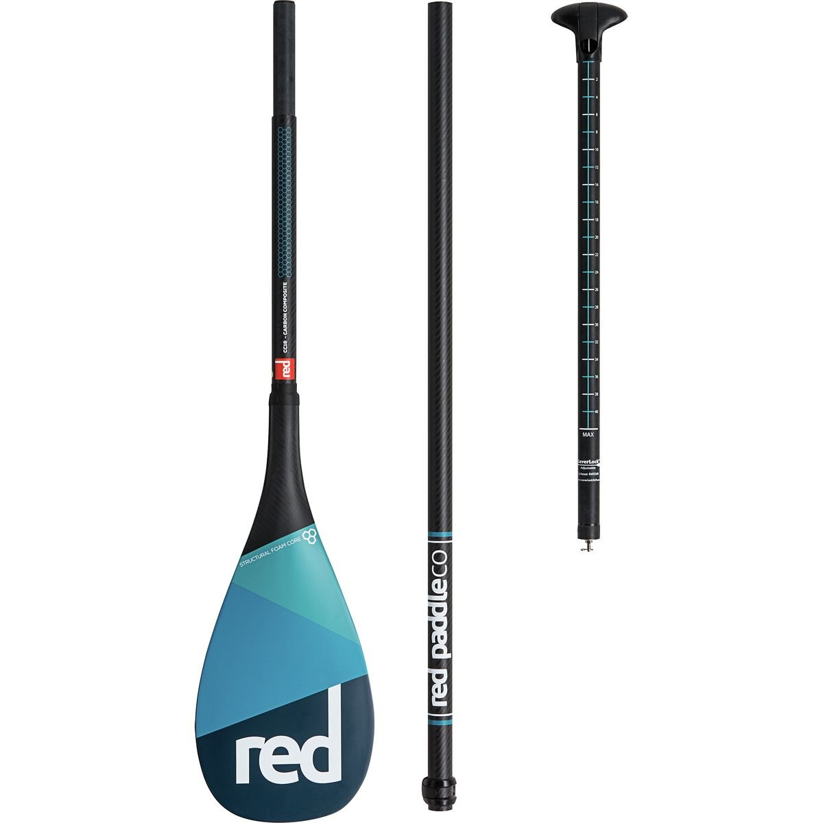 Amazon.com : 2018 Red Paddle Co Carbon Adjustable 70-86