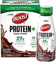 BOOST Protein+ Chocolate Meal Replacement Shake, 4 x 325ml