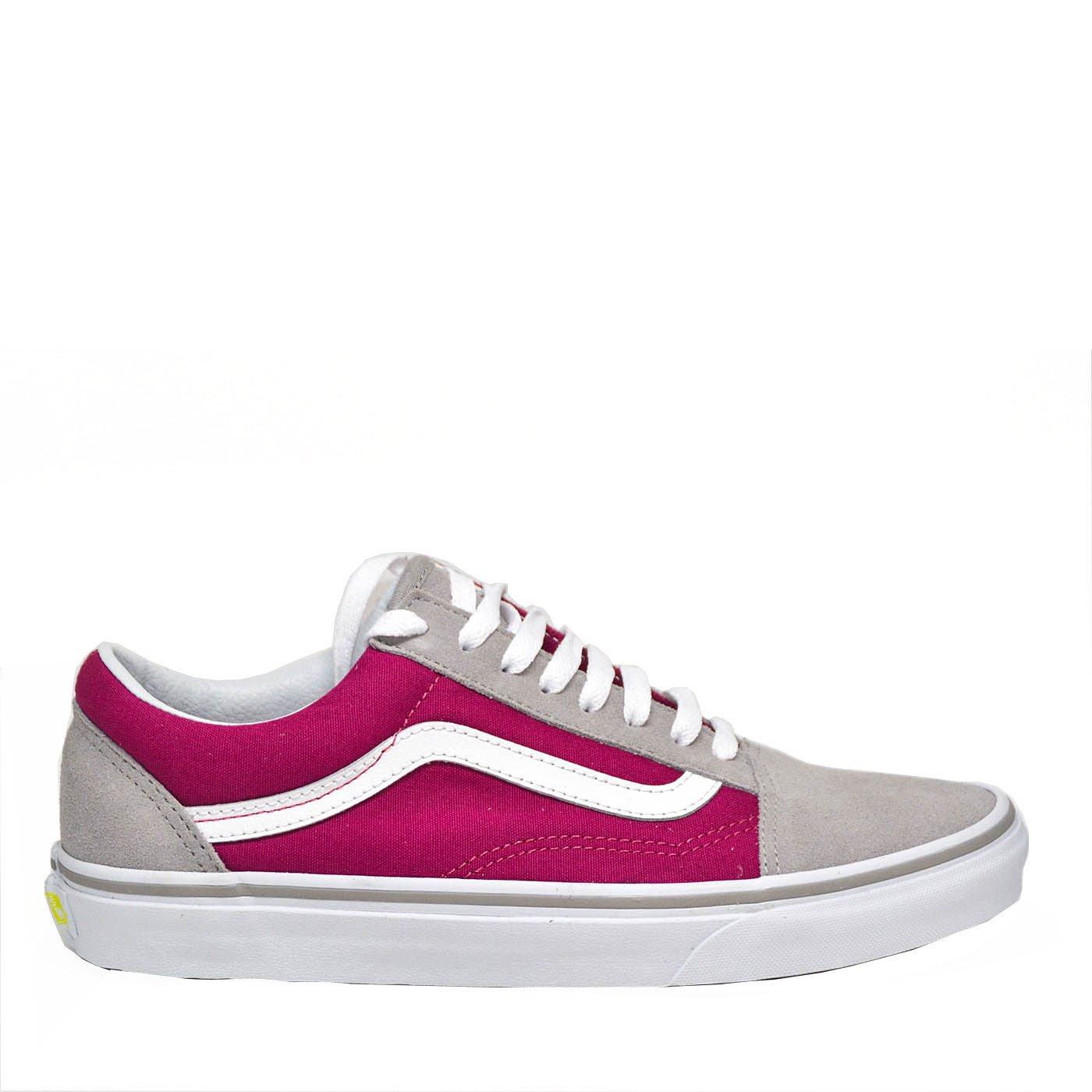 Vans Damen UA Old Skool Sneaker  9 UK|Drizzle/Sangria