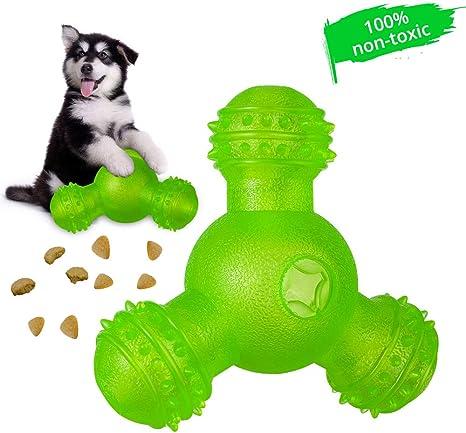 Pet Dentist-Rubber Dental Teeth Cleaner Treat Ball-Tough Durable Interactive ...