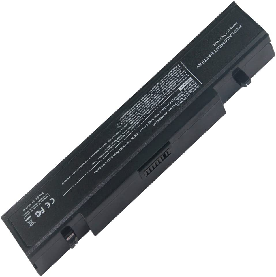 11.10V, 4400mAh, Li-ion, Replacement Laptop Battery for SAMSUNG NP-RF511, NP-SF410, Q310, Q430, R428, R429, R430, R458, R463, R464, R465, R466, R467, R468, R470, R478, R480, R507, R517, R518, R519, R520, R522, R580, R620, R718, R720, R728, R730, R780, R780-JT01, RC410, RC510, RC710, RF411, RF512, RF711, RF712, RV409, RV409I, RV420, RV440, RV509, RV509E, RV509I, RV520, RV540, RV72, SF410-A01, SF410-A02, SAMSUNG NP-R540, NP-SF411, P210, P460, P560, Q210, Q320, R460, R505, R510, R540, R610, R700, R710, R780, RF511, RV409, RV509, SF410, X360, X460 Series, Compatible Part Numbers: AA-PB9NC5B, AA-PB9NC6B, AA-PB9NC6W, AA-PB9NC6W/E, AA-PB9NS6B, AA-PL9NC2B, AA-PL9NC6W