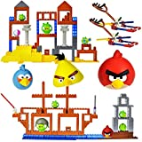 K'Nex Angry Birds Grillin and Chillin & All Hams On Deck Pack with 2 Character