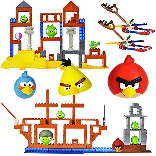 Knex Angry Birds Grillin And Chillin   All Hams On Deck Pack With 2 Character
