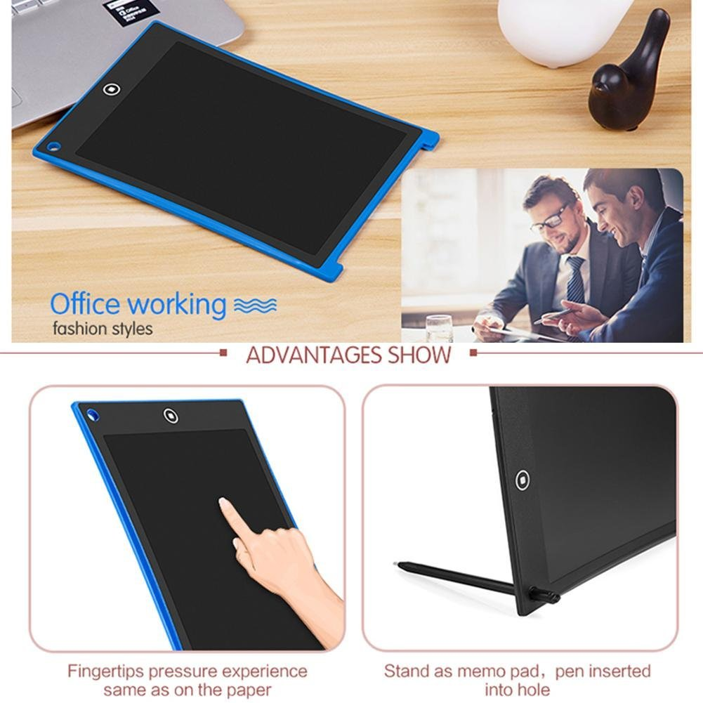 Feeling-one LCD Writing Tablet Gifts for Kids /& Adults 8.5-Inch Writing Board Doodle Board Drawing Pad with Newest LCD Pressure-Sensitive Technology