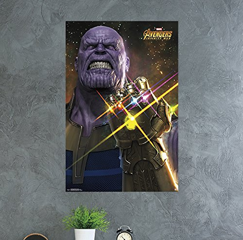 Trends International Avengers: Infinity War-Thanos Wall Post