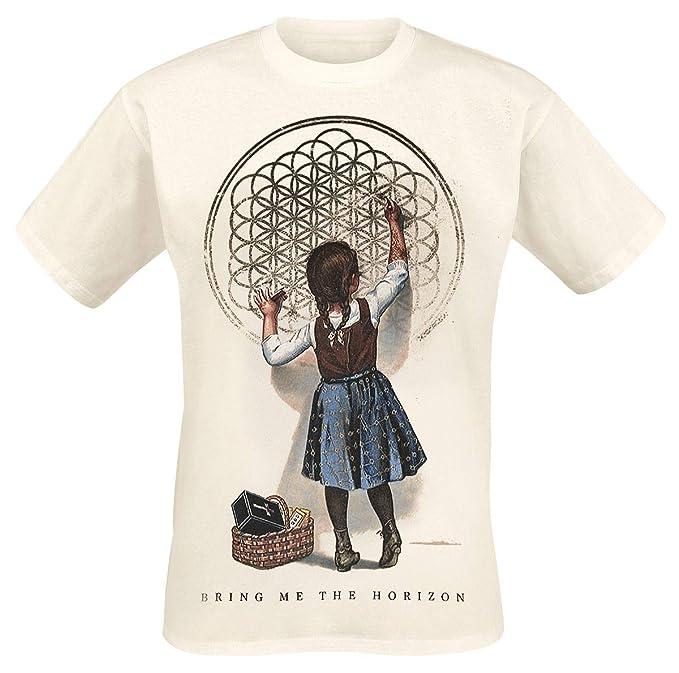 b23c5edf4 Bring Me The Horizon Sempiternal Girl T-Shirt Sand: Amazon.co.uk ...