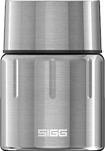 Sigg Gemstone Food Jar Selenite (0.5 L), Insulated Food Container for The Office, School and Outdoors, 18/8 Stainless Steel Thermo Container
