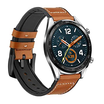 Leafboat Compatible con Correa Huawei Watch GT,22 mm Pulsera ...