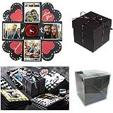 Sparta's Store Kreative Überraschung Box Handgemachtes Scrapbook DIY Faltendes Fotoalbum,Explosions-Box, Gedenkalben, Geburtstagsgeschenke, Partygeschenke.