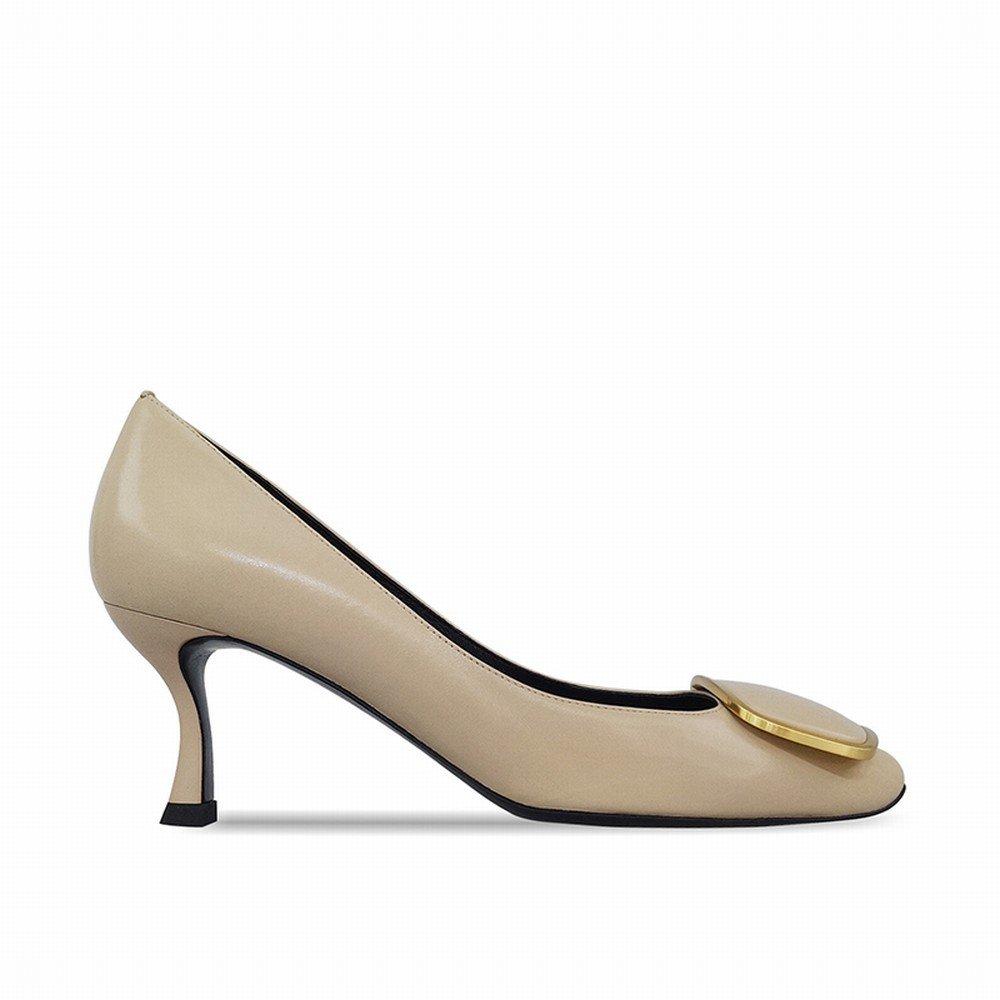 DHG High Missy Französisch Elegante Weingläser High DHG Heels,Creme Farben,35 - 2f3c60