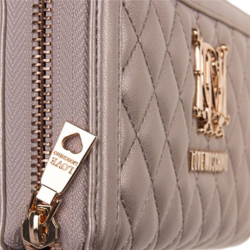Love Moschino Quilted Womens Purse Gold by Love Moschino (Image #3)