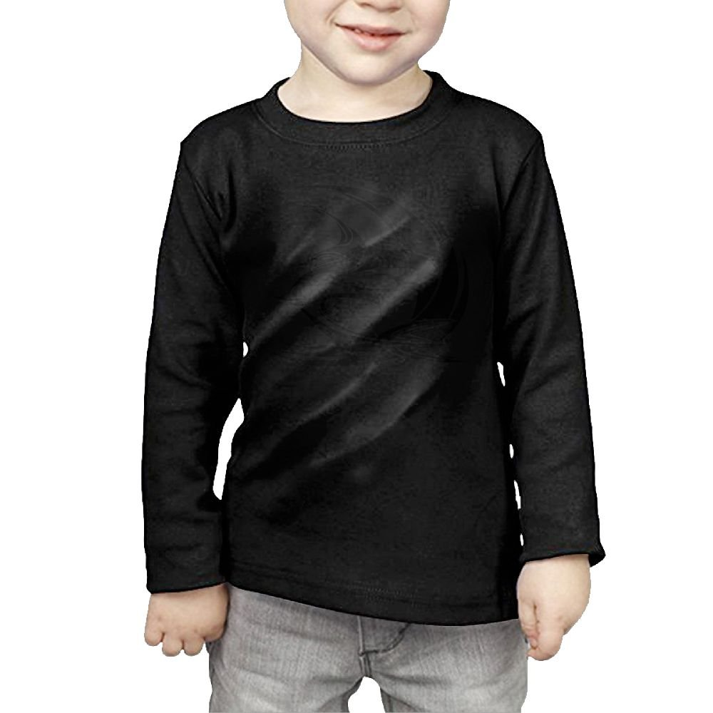 Big Shark Kid Cotton Tee Cute Long-Sleeved Clothes