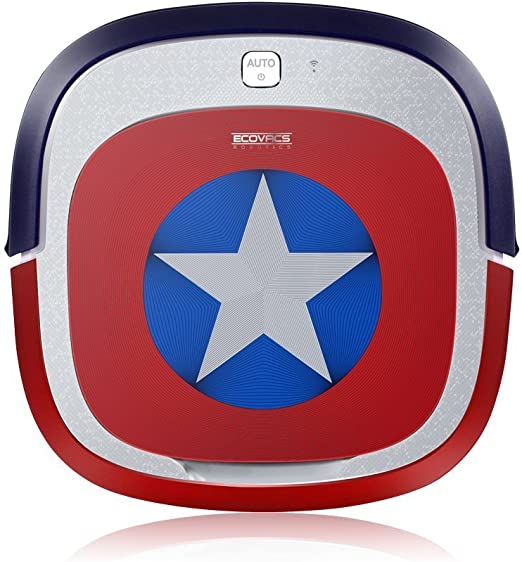 ECOVACS ROBOTICS DEEBOT SLIM - MARVEL edition, Captain America ...