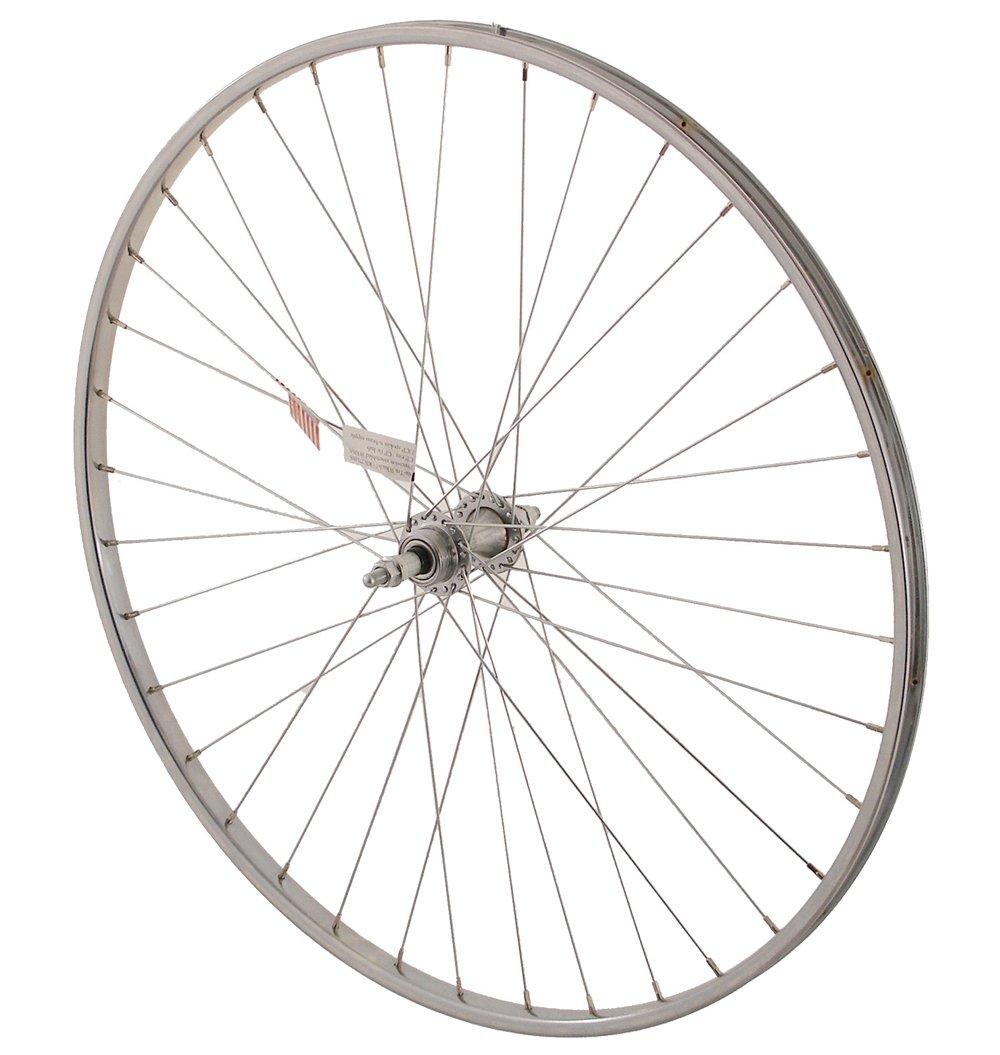 Sta-Tru Alloy 6-7 Speed Freewheel Hub Rear Wheel (27X1 1/4-Inch)