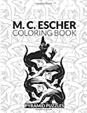 M C Escher Coloring Book: An M C Escher Puzzle Book