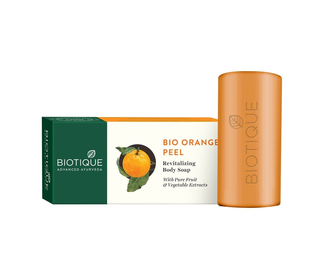 Biotique Bio Orange Peel Body Revitalizing Body Soap