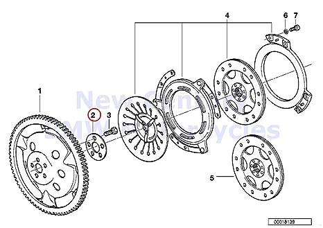 Amazon Com Bmw Genuine Motorcycle Clutch Single Parts Washer